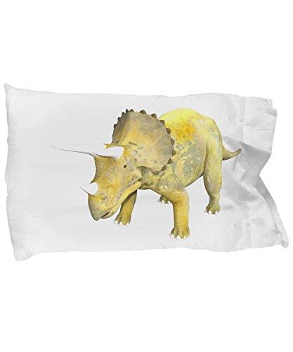 Triceratops Pillow Case - Dinosaur