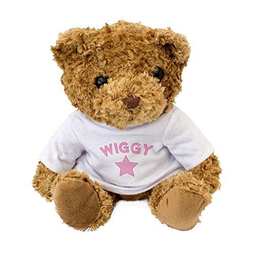 NEW WIGGY Teddy Bear - Cute And Cuddly - Gift Present Birthday Xmas