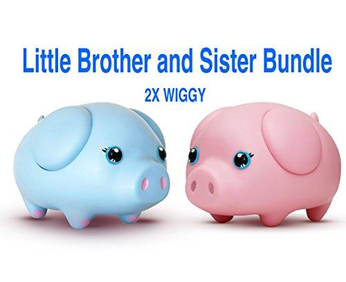 Wiggy Smart Piggybank Little Brother Sister Bundle