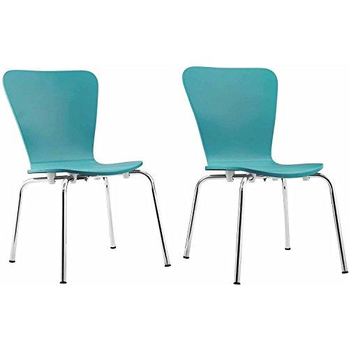 Kids Bentwood Chair Set of 2 Blue