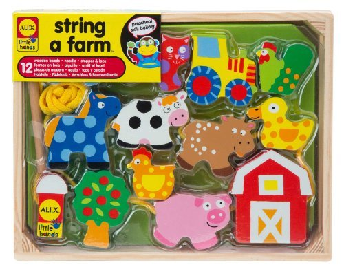 ALEX Toys Little Hands String A Farm by Alex