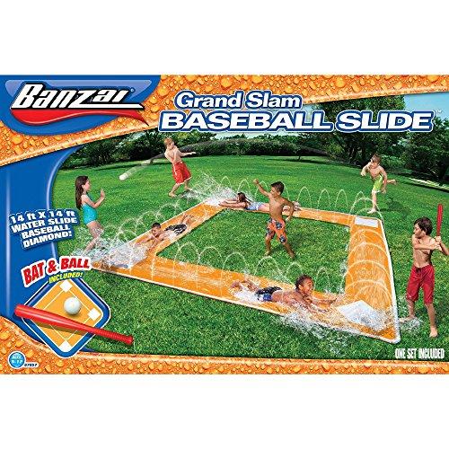 Spring and Summer Toys Banzai Grand Slam Baseball Water Slide