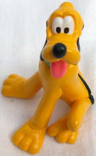 25 Disney Mickey Mouse Dog Pluto Pvc Figure Doll Toy Cake Topper