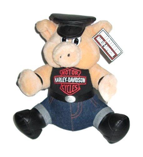 Harley-Davidson MotorCycles 10 inch Plush Stuffed Hog Pig 1993 by Play-by-Play by Play-by-Play Toys and Novelties