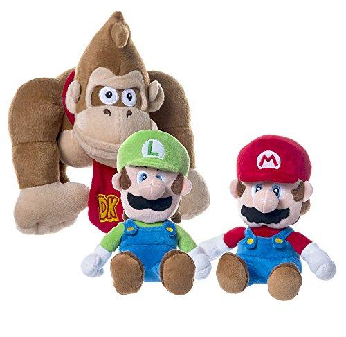Super Mario Plush Figures 28-36 cm Assortment 12 Play Plushes
