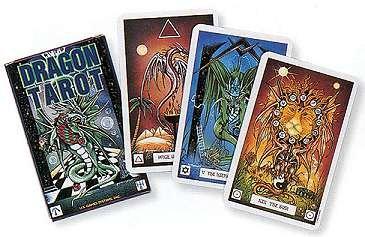 Dragon Tarot Card Deck by Donaldson Pracownik