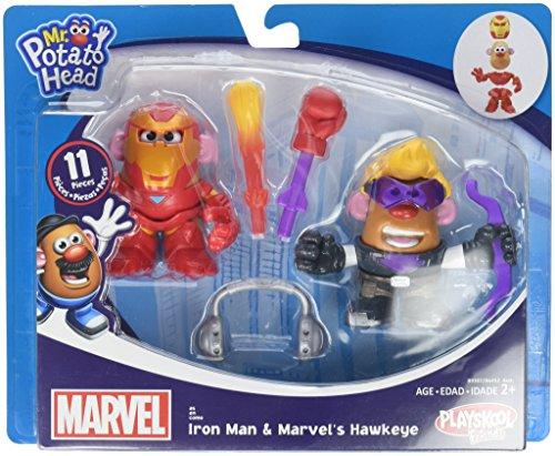 Potato Head MPH Marvel Mashup Hawkeye Iron Man Toy