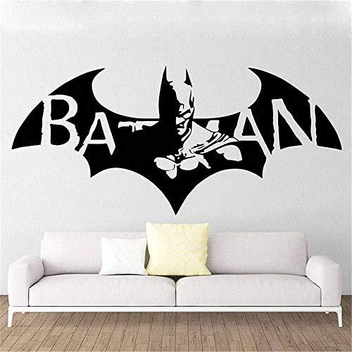 Batman Wall Sticker Decal Fashion Stickers New Batman Hero Vinyl Wall Decal Cartoon Home Decor Kids Room Art Mural