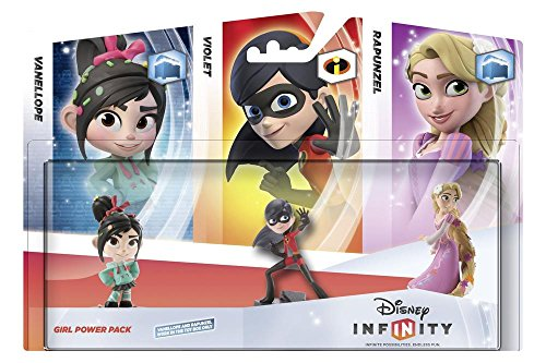 Disney Infinity Girls 3-Figure Power Pack PS3Xbox 360Nintendo Wii3DSWii U UK Import