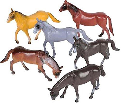 6 Horses 6 Each 132 Scale Horse Toy Barn Farm