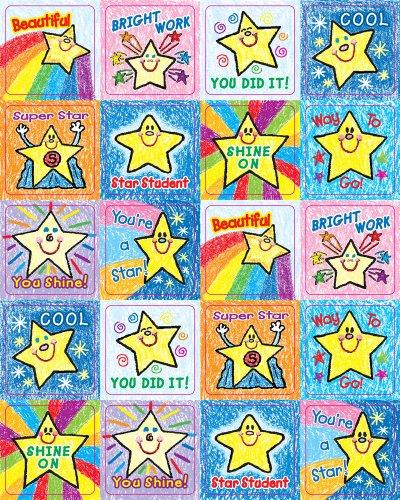 Carson Dellosa Stars Motivational Stickers 0640
