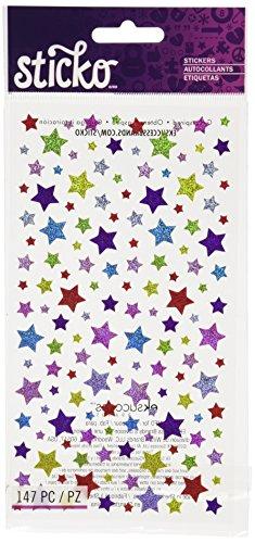 Sticko Shimmery Stars Stickers