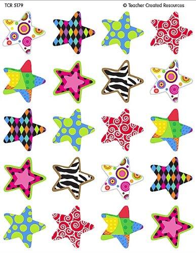 Teacher Created Resources Fancy Stars Stickers 5179