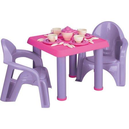 American Plastic Toys - Tea Party Set 28-Pieces
