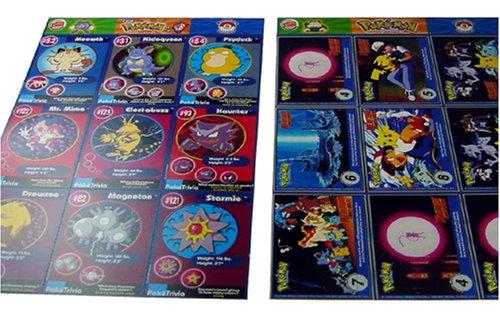 Uncut Sheet of 9 Classic 1999 Pokemon Burger King Promo Cards One Random Sheet