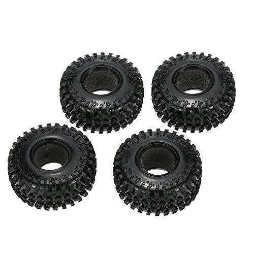 Goolsky 4Pcs Austar 22 125mm 1 10 Scale Tires for 110 RC4WD D90 Axial SCX10 RC Rock Crawler