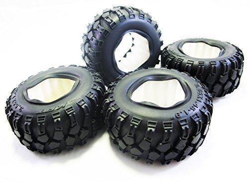 ALIENTAC 90mm 19 Tire Set with Foam Insert 355x145 for 110 Crawler SCX10 AX10 - 4 PCS