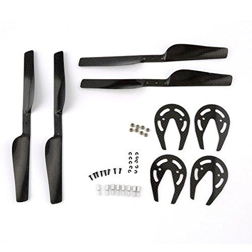 Eshion Parrot AR Drone 10 20 Parts Carbon Fiber Propeller Gear Guard Bearing