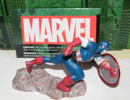 Captain America Avengers Marvel Superhero Figure Disney Exclusive with Tatto Sticker Set
