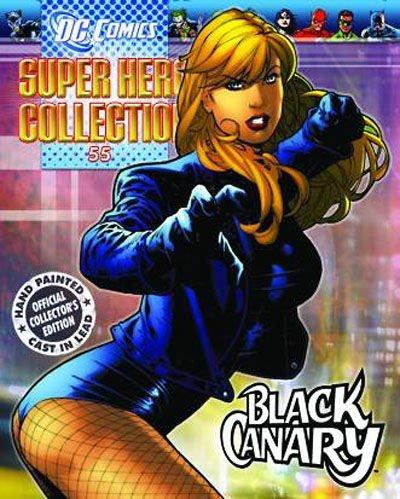 DC Superhero Figure Coll Mag 54 Black Canary