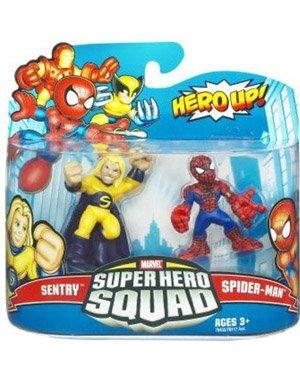 Marvel Superhero Squad Spider-Man Sentry Action Figure 2-Pack
