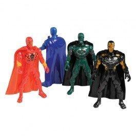 Superhero Figures with Cape4-pc