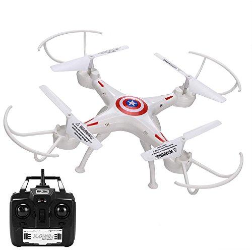 Eshion YX668-A3 Headless Mode RC Quadcopter 24GHz 6CH 6 Axis Gyro RC Drone UAV Toy White