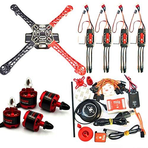 450mm GPS Quadcopter Kit with Naza-M Lite FC M7N GPS 2212 Motors 30a ESC Props