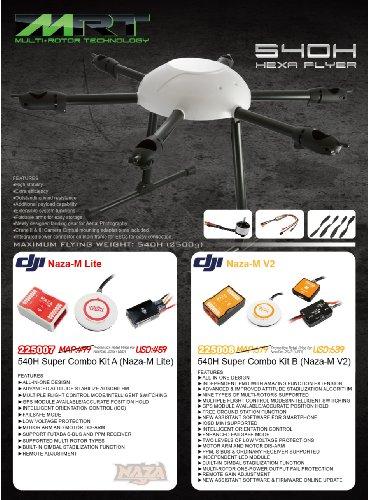 540H Super Combo Kit A Naza-M Lite