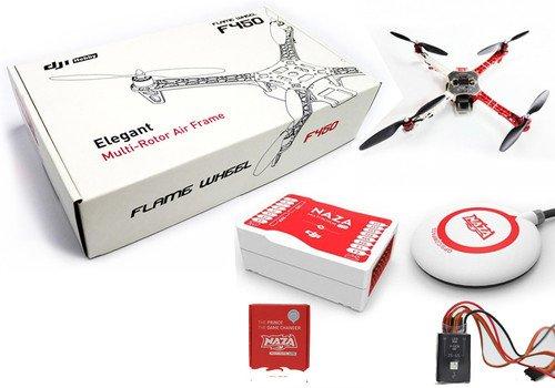 DJI Flame Wheel F450 ARF NAZA M Lite GPS LED Module Motors ESC Prop Combo by THE1RC