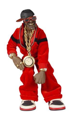Mezco Toyz Rap Stars Action Figure Public Enemys Flava Flav Toy