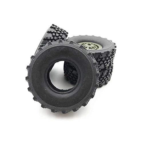 Meiyiu RC Car TiresBattery Motor Spare Parts Applies to 116 RC Car WPL Ural B36 B24 B16 C24 Remote Control Car Soft tire 4pcs