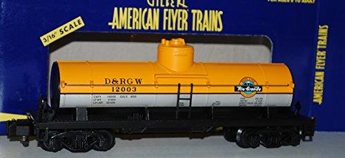 American Flyer 6-48229 2003 TTOS Denver Rio Grande Tank Car DRGW S scale NIOB