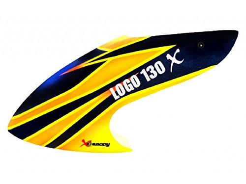 XCanopy Airbrush Fiberglass Warrior Canopy - BLADE 130X