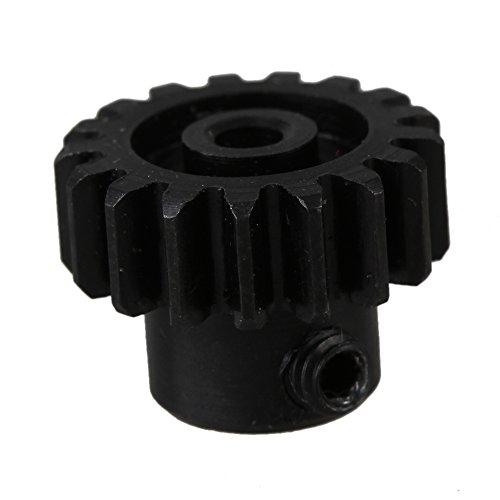 BQLZR Black 13MM Dia A580038 Metal Motor Gear for WL Toys A959 A969 A979 k929 RC 118 Car