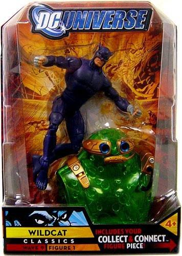 DC Universe Classics Series 9 Action Figure Wildcat Purple Variant Build Chemo Piece
