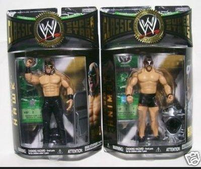 Jakks Pacific WWE Classic Superstars Series 9 Action Figures Animal Hawk Bundle Set of 2
