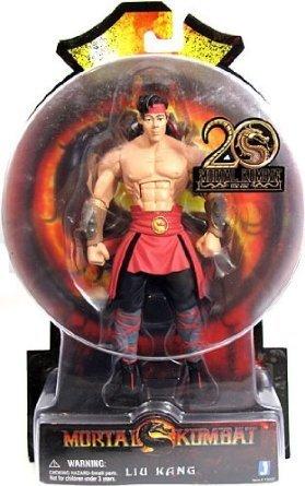 Liu Kang Mortal Kombat 9 Action Figure 6 Inch by Animewild