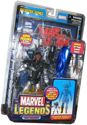 Marvel Legends Series 9 Action Figure War Machine Galactus BuildAFigure