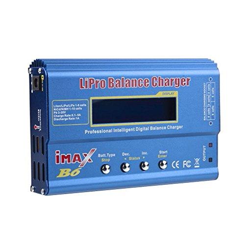 niceEshopTM IMax B6 LCD Digital 2S-6S RC Lipo NiMh Li-ion LiFe Nicd Battery Balance Charger