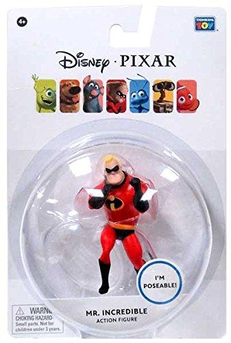Disney  Pixar The Incredibles 375 Inch Action Figure Mr Incredible