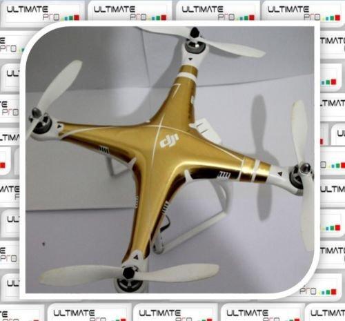 Gold Decal skin wrap sticker Compatible with DJI Phantom 2visionPhantom 1 Quadcopter Accessory