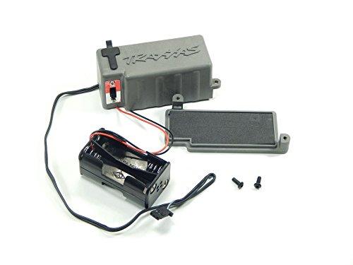 Traxxas T-Maxx Tmaxx Battery Box Compartment Holder OnOff Switch 4925X 3170