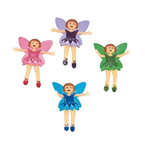 Fun Express Fairy Bendables Action Figure 1 Dozen