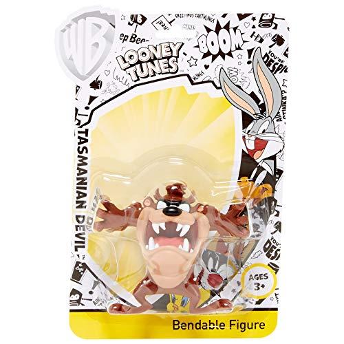 NJ Croce Taz Manian Devil Looney Tunes Bendable Action Figure