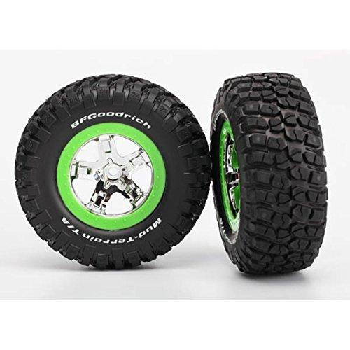 Traxxas TireWheel Assembled Green