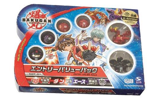 Bakugan Entry Value Pack BBT-01 Dan vs Ace JAPAN