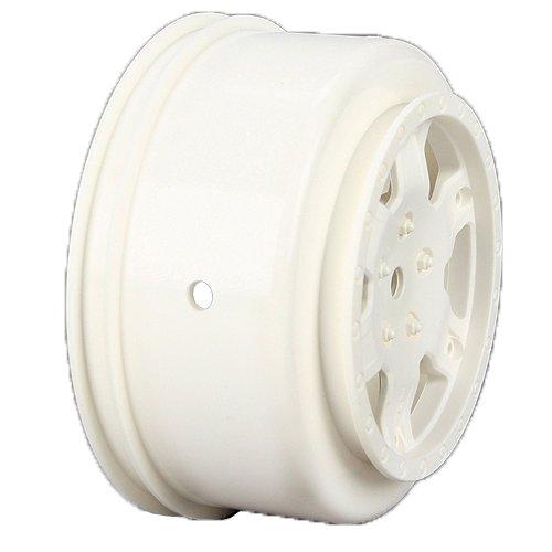 Team Losi Wheel White 2 22SCT