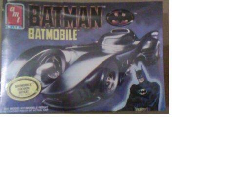BATMAN BATMOBILE 125 Model Kit ERTL 1989