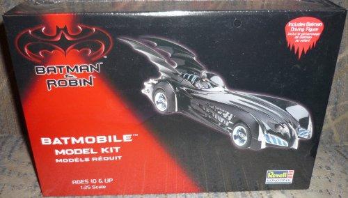 Batman Robin Batmobile Model Kit